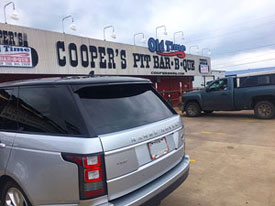 Coopers Bar-B-Que in Llano, Texas